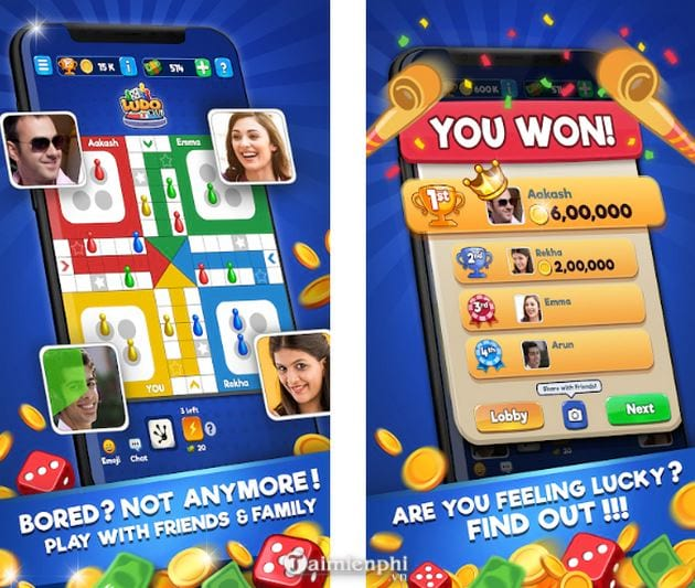 Tải Ludo Club game dạng bảng cho Android , iPhone -taimienphi vn