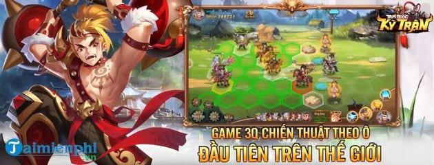 Game chiến thuật đấu tướng, tái hiện lại thời Tam Quốc một cách chân thực, rõ nét và sống động Tam Quốc Kỳ Trận Tam-quoc-ky-tran-mobile-1