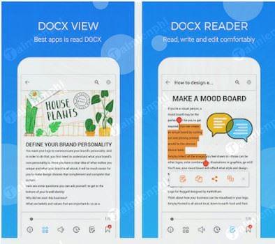 Download Docx Reader Cho Android - Trình đọc tài liệu trên điện thoại