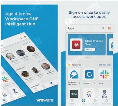 Download Intelligent Hub Cho Android - Truy cập công việc