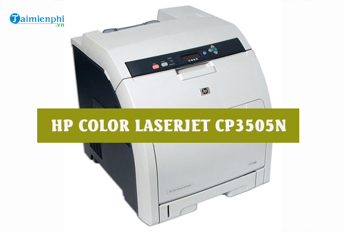 hp color laserjet 3505 driver mac