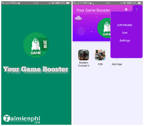 Download Your Game Booster cho Android - Hỗ trợ chơi game PUBG mobile