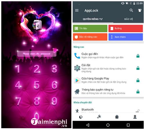 Download AppLock Cho Android - Ứng dụng khóa tin nhắn, danh bạ, app tr