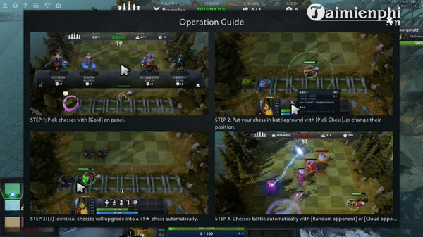 Tải Auto Chess cho Android 0 2 0, iPhone, Game Mobile Dota Auto Chess