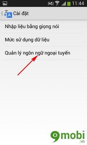Sử dụng Google Translate ở chế độ Offine trên Android