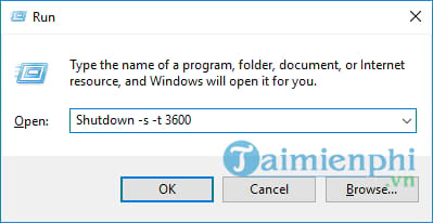 cach hen gio tat may windows 10 2