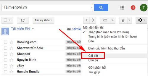 xoa thu spam tren gmail