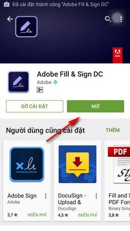 ung dung tao chu ky adobe fill sign dc