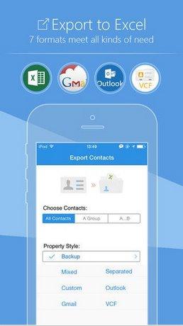SA Contacts cho iPhone mien phi