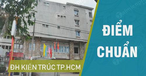 diem chuan dai hoc kien truc tphcm