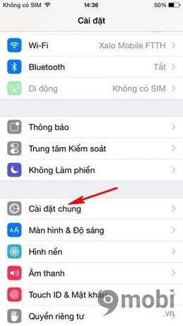 bat voiceover tren iPhone 6