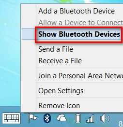 bat tat bluetoth tren windows 8.1