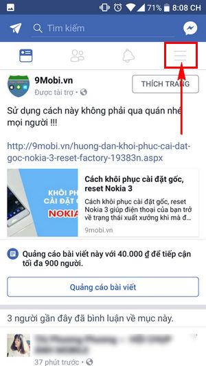 bat thong bao thoi tiet tren facebook 2