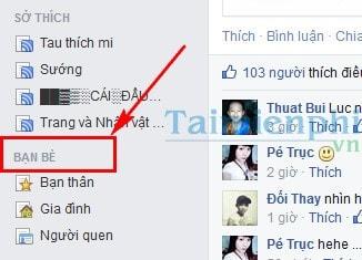 Bo theo doi ban be tren facebook