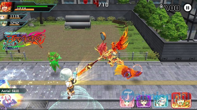 breakers dawn of heroes game hanh dong nhat ban cuc chat da co tren mobile 2