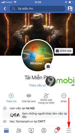 cach bat tat thong bao sinh nhat facebook tren iphone 2