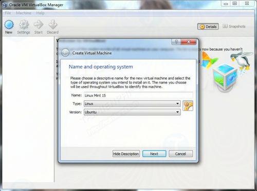 cach cai linux len may tinh su dung virtualbox 2