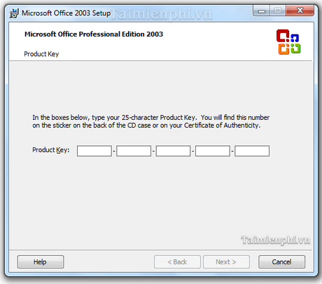 ms office professional edition 2003