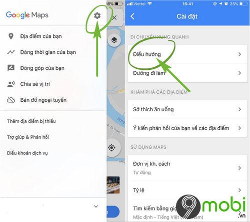 cach cai spotify tren google maps 2