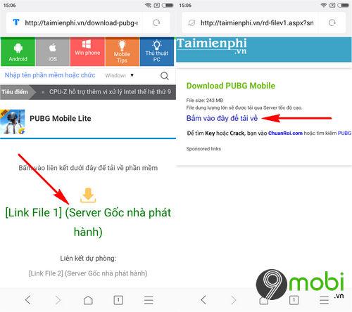 Cách cài và chơi PUBG Mobile Lite trên điện thoại cấu hình yếu