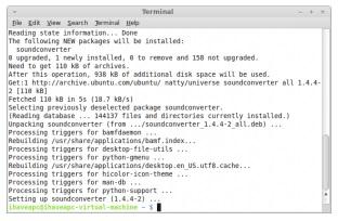 cach cai va su dung sound converter tren ubuntu linux mint 2