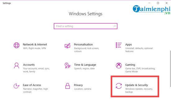 Cập nhật Windows 10 October 2018 Version 1809, nâng cấp