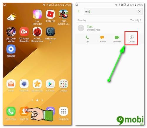 Hướng dẫn chặn cuộc gọi trên Samsung J7 Pro
