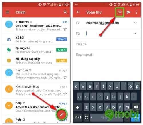 cach chen file tu google drive trong gmail tren dien thoai 2