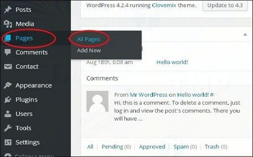 cach chen them link trong wordpress 2