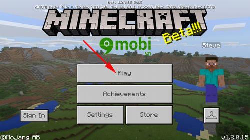 cach choi minecraft tren dien thoai android game the gioi mo 2