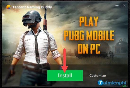 cach choi pubg mobile bang gia lap tencent tren pc 2