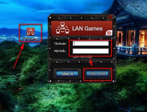 cach choi warcraft lan game online 2