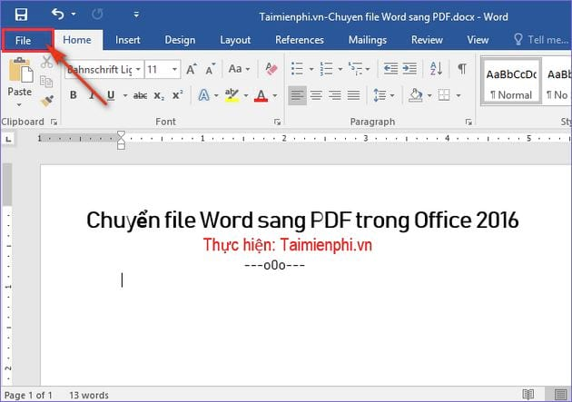 cach chuyen file word sang pdf trong office 2016 2