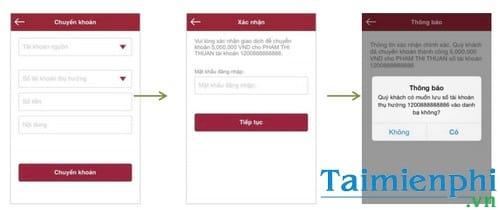 Cách chuyển tiền ngân hàng Agribank từ điện thoại Samsung, Oppo, iPhon