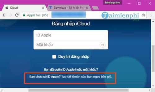 cach dang ky icloud tren web tu may tinh 2