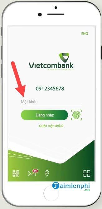 cach dang nhap vietcombank internet banking 2