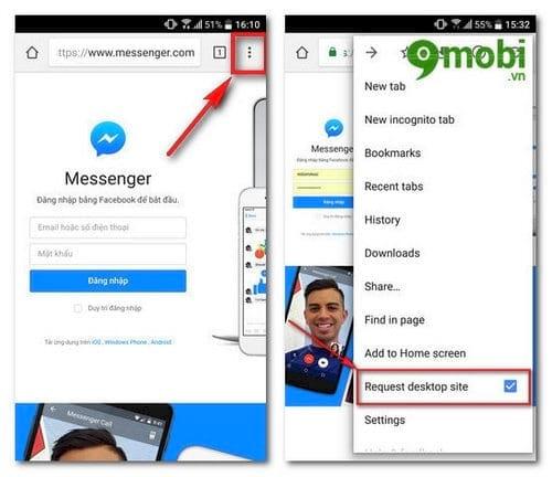 cach doc tin nhan facebook khong can cai facebook messenger 2