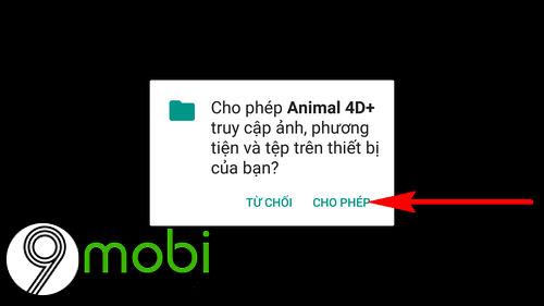 cach dung animal 4d tren dien thoai 2