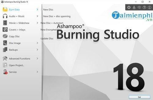 cach dung ashampoo burning studio de ghi dia tren may tinh 2