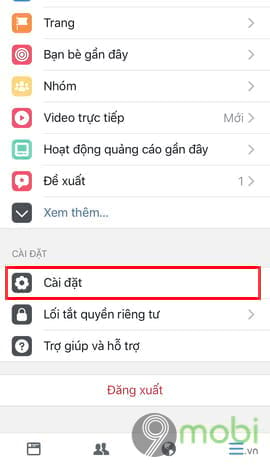 cach hien thong bao sinh nhat facebook tren dien thoai 2