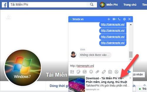 cach khac phuc loi gui link tren facebook messenger 2
