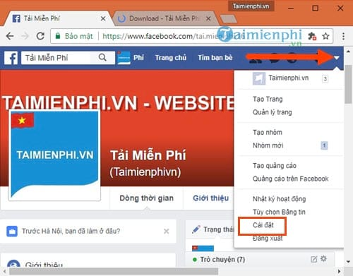 cach khoa facebook tren may tinh block tai khoan facebook 2