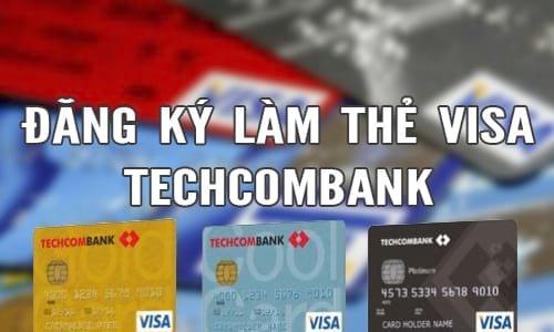 lam the tin dung techcombank