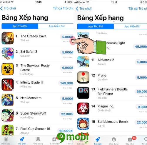 cach mua ung dung bang tien viet tren app store 2