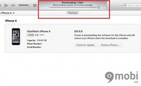 khoi phuc cai dat goc iPhone 6