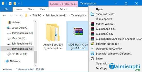 cach su dung md5 hash changer tool de doi md5 cua video file 2