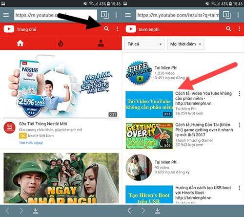 cach tai nhac mp3 tren youtube ve dien thoai iphone android 2