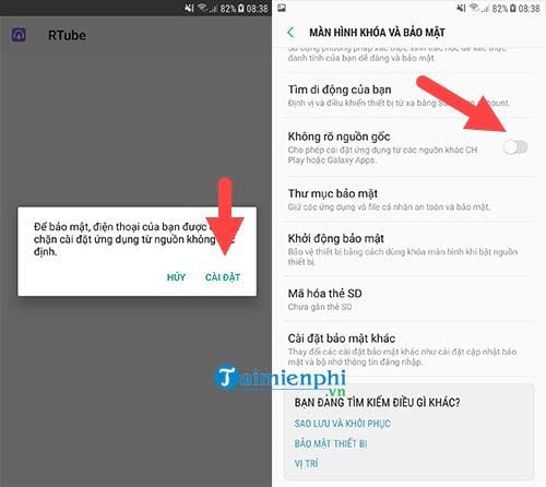 cach tai video tren youtube ve smartphone android 2