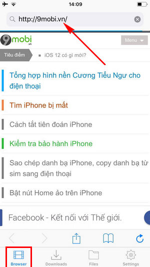 cach tai video truc tiep tren iphone 2