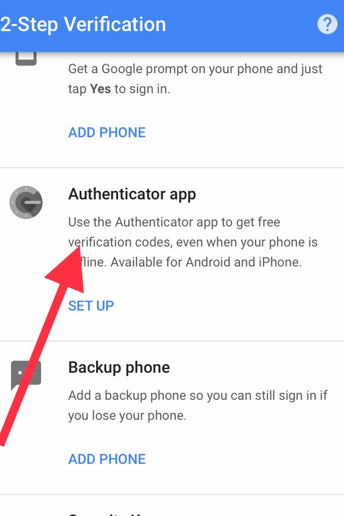 cach tao va su dung google authenticator 2